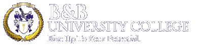 B&B University College Logo